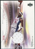 2001/02 Upper Deck Flight Team UD Jersey Jams #DMJ Darius Miles