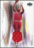 2001/02 Upper Deck Flight Team UD Jersey Jams #ECJ Eddy Curry