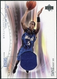 2001/02 Upper Deck Flight Team UD Jersey Jams #JSJ Jeryl Sasser