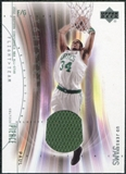 2001/02 Upper Deck Flight Team UD Jersey Jams #PPJ Paul Pierce