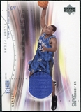 2001/02 Upper Deck Flight Team UD Jersey Jams #SHJ Steven Hunter