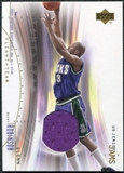 2001/02 Upper Deck Flight Team UD Jersey Jams Gold #GRJ Glenn Robinson /50