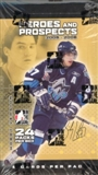 2005/06 In The Game Heroes & Prospects Hockey Hobby Box