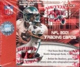 2001 Fleer E-X Football Hobby Box