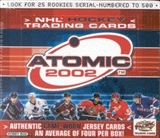 2001/02 Pacific Atomic Hockey Hobby Box
