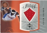2002/03 Upper Deck Sweet Shot Sweet Swatches #DMS Darius Miles