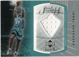 2002/03 Upper Deck Sweet Shot Sweet Swatches #JMS Jamal Mashburn