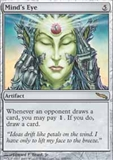 Magic the Gathering Mirrodin Single Mind's Eye FOIL