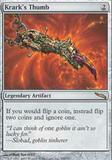 Magic the Gathering Mirrodin Single Krark's Thumb UNPLAYED (NM/MT)