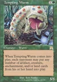 Magic the Gathering Onslaught Single Tempting Wurm UNPLAYED (NM/MT)