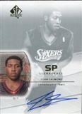 2002/03 Upper Deck SP Authentic SP Signatures #JS John Salmons