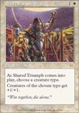 Magic the Gathering Onslaught Single Shared Triumph UNPLAYED (NM/MT)