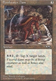 Magic the Gathering Alliances Single Floodwater Dam - NEAR MINT (NM)