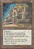Magic the Gathering Alliances Single Urza's Engine UNPLAYED (NM/MT)