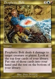 Magic the Gathering Apocalypse Single Prophetic Bolt UNPLAYED (NM/MT)