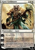Magic the Gathering Lorwyn Single Ajani Goldmane Foil