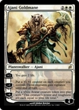 Magic the Gathering Lorwyn Single Ajani Goldmane - SLIGHT PLAY (SP)