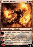 Magic the Gathering Lorwyn Single Chandra Nalaar FOIL - SLIGHT PLAY (SP)