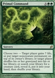 Magic the Gathering Lorwyn Single Primal Command - SLIGHT PLAY (SP)