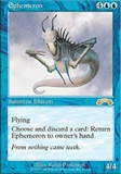 Magic the Gathering Exodus Single Ephemeron UNPLAYED (NM/MT)