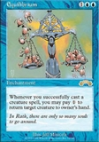 Magic the Gathering Exodus Single Equilibrium - NEAR MINT (NM)