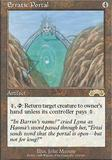 Magic the Gathering Exodus Single Erratic Portal - NEAR MINT (NM)