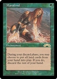 Magic the Gathering Exodus Single Manabond LIGHT PLAY (NM)