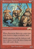 Magic the Gathering Exodus Single Ravenous Baboons - NEAR MINT (NM)