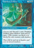 Magic the Gathering Exodus Single Thalak Drifters LIGHT PLAY (NM)