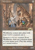 Magic the Gathering Exodus Single Workhorse UNPLAYED (NM/MT)