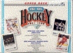 1991/92 Upper Deck French Hi # Hockey Jumbo Box