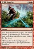 Magic the Gathering Lorwyn Single Wild Ricochet UNPLAYED (NM/MT)