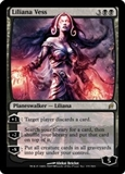 Magic the Gathering Lorwyn Single Liliana Vess FOIL NEAR MINT