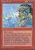 Magic the Gathering Ice Age Single Chaos Lord - SLIGHT PLAY (SP)