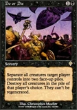 Magic the Gathering Invasion Single Do or Die UNPLAYED (NM/MT)