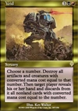 Magic the Gathering Invasion Single Void UNPLAYED (NM/MT)