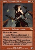 Magic the Gathering Judgment Single Jeska, Warrior Adept UNPLAYED (NM/MT)