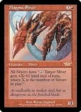 Magic the Gathering Legions Single Magma Sliver - NEAR MINT (NM)