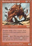 Magic the Gathering Legions Single Rockshard Elemental - NEAR MINT (NM)