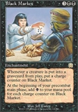 Magic the Gathering Mercadian Masques Single Black Market - FOIL NEAR MINT (NM)