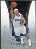 2004/05 Upper Deck Exquisite Collection #34 Mike Bibby /225