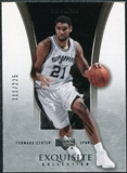 2004/05 Upper Deck Exquisite Collection #35 Tim Duncan /225