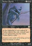 Magic the Gathering Mercadian Masques Single Nether Spirit FOIL - SLIGHT PLAY (SP)