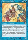 Magic the Gathering Mercadian Masques Single Saprazzan Bailiff - NEAR MINT (NM)