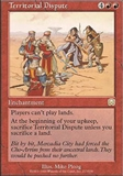 Magic the Gathering Mercadian Masques Single Territorial Dispute - NEAR MINT (NM)