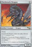 Magic the Gathering Mirrodin Single Clockwork Dragon - NEAR MINT (NM)