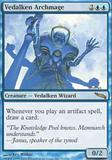 Magic the Gathering Mirrodin Single Vedalken Archmage UNPLAYED (NM/MT)