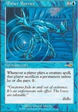 Magic the Gathering Nemesis Single Aether Barrier UNPLAYED (NM/MT)
