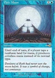 Magic the Gathering Nemesis Single Pale Moon UNPLAYED (NM/MT)