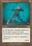 Magic the Gathering Nemesis Single Parallax Inhibitor - NEAR MINT (NM)